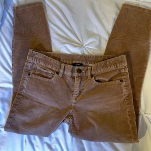 JCrew Super Skinny Stretch Corduroy Pants